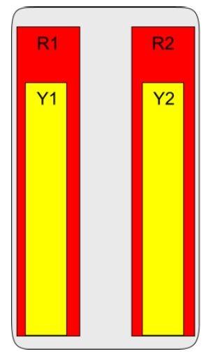 8-Port Antenna - 2L2H / 2 m