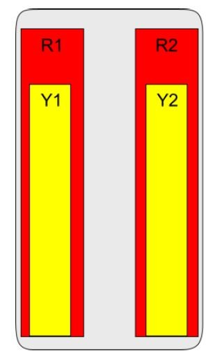 8-Port Antenna - 2L2H / 2.7 m