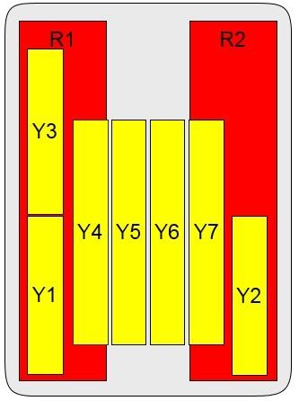 18-Port Antenna - 2L3H + 2.6G TDD / 1.7 m