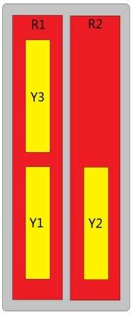 10-Port Antenna - 2L3H / 2.63 m