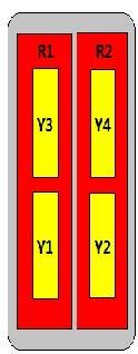 12-Port Antenna - 2L4H / 2.63 m