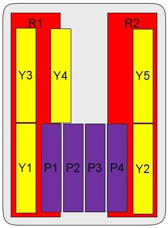 22-Port Antenna - 2L5H + 3.5G TDD / 2.3 m