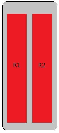 4-Port Antenna - 2L / 1.25 m