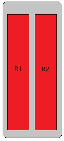 4-Port Antenna - 2L / 2.69 m
