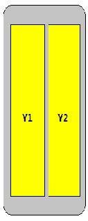4-Port Antenna - 2H / 1.47 m