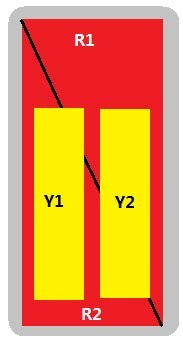 8-Port Antenna - 2L2H / 2.7m