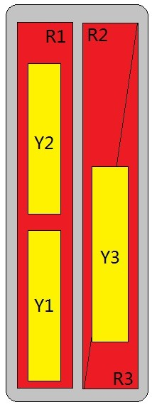 12-Port Antenna - 3L3H / 2.7 m
