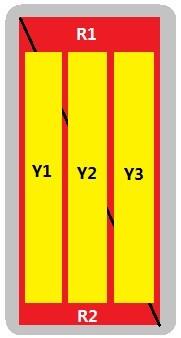 10-Port Antenna - 2L3H / 2.0 m