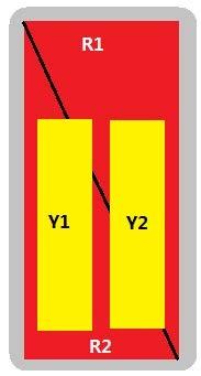 8-Port Antenna - 2L2H / 2.0 m