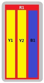 8-Port Antenna - 1L3H / 1.5 m