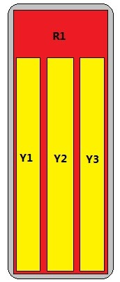 8-Port Antenna - 1L3H / 1.45 m