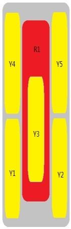 12-Port Antenna - 1L5H / 2.69 m