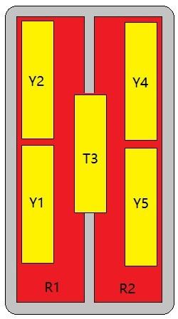 14-Port Antenna - 2L5H / 2.69 m