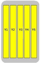 10-Port Antenna - 5H / 1.47 m