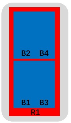 10-Port Antenna - 1L 65° Beam + 2 x 33° Twin Beams / 1.5 m